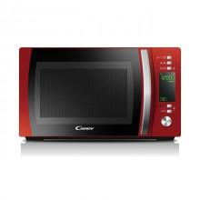Candy CMXG20DR Encimera Microondas con grill 20 L 700 W Negro, Rojo, Acero inoxidable