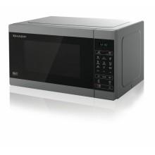 Sharp Home Appliances YC-MG51E-S microondas Sobre superficie Microondas combinado 25 L 900 W Metálico
