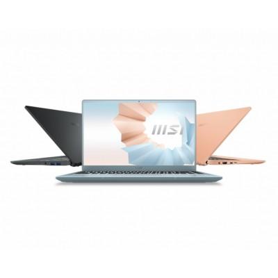 "MSI Modern 14 B11SB-009XES Portátil 35,6 cm (14"") 1920 x 1080 Pixeles Intel Core i7-11xxx 16 GB DDR4-SDRAM 512 GB SSD NVIDIA"