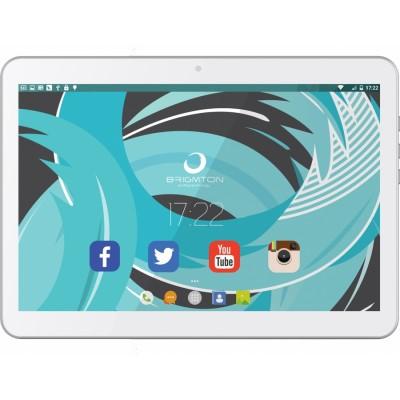 Brigmton BTPC-1021QC3G 16GB 3G Blanco tablet
