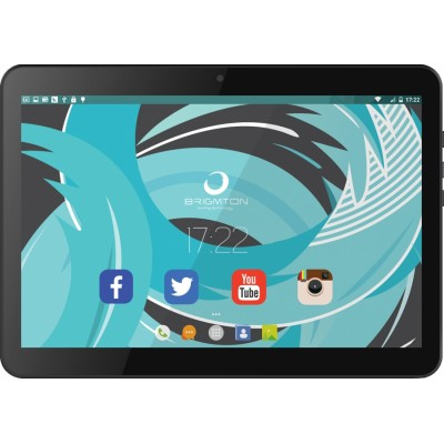 Brigmton BTPC-1021QC3G 16GB 3G Negro tablet