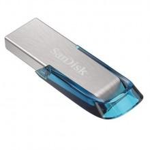 SanDisk Ultra Flair unidad flash USB 32 GB USB tipo A 3.2 Gen 1 (3.1 Gen 1) Azul, Plata