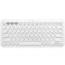 Logitech K380 teclado Bluetooth QWERTZ Español Blanco