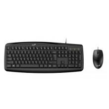 Genius Smart KM-200 teclado USB QWERTY Español Negro