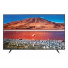 "Televisor Samsung UE43TU7105KXXC (43"") 4K Ultra HD Smart TV Wifi Carbono, Gris, Plata"