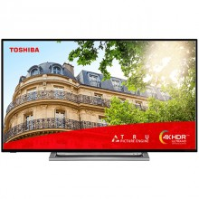 "Televisor Toshiba 58UL3B63DG (58"") 4K Ultra HD Smart TV Wifi Negro, Plata"