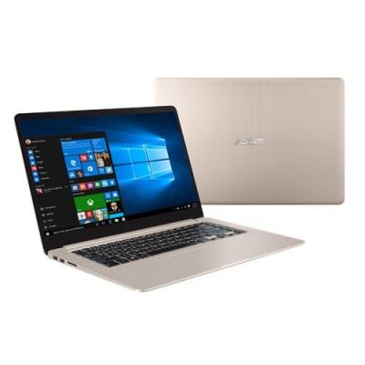 """ASUS VivoBook S510UA-BR274R 2.4GHz i3-7100U 15.6"""" 1366 x 768Pixeles Oro Portátil ordenador portatil"""