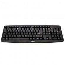 iggual CK-BASIC-105T teclado USB QWERTY Español Negro