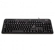 iggual CK-BASIC-120T teclado USB QWERTY Español Negro