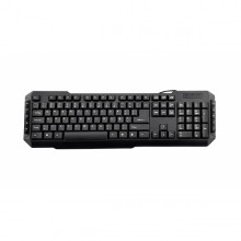 3GO KBDRILEPS2 teclado PS/2 QWERTY Español Negro