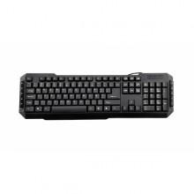3GO KBDRILE teclado USB QWERTY Español Negro