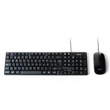 L-Link LL-KB-816-COMBO teclado USB Español Negro