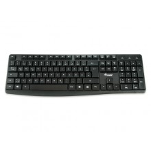 Equip 245211 teclado USB QWERTY Español Negro