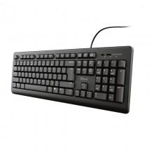 Trust TK-150 teclado USB QWERTY Español Negro