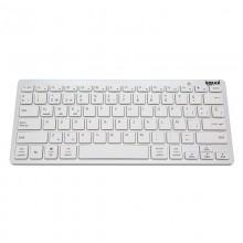 iggual TKL-BK teclado Bluetooth QWERTY Español Plata