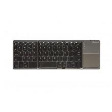 SilverHT Teclado Plegable Inalámbrico con Touchpad