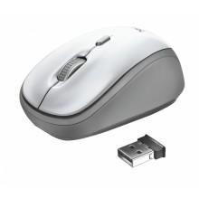 Trust Yvi ratón Ambidextro RF inalámbrico Óptico 1600 DPI
