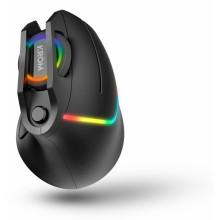 Krom Kaox ratón mano derecha USB tipo A Óptico 6400 DPI