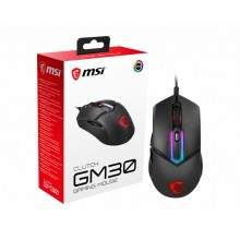 MSI Clutch GM30 ratón mano derecha USB tipo A Óptico 6200 DPI