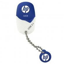 HP x780w unidad flash USB 64 GB USB tipo A 3.2 Gen 1 (3.1 Gen 1) Azul, Blanco