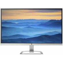 """HP 27es 27"""" Full HD IPS Negro, Plata pantalla para PC"""