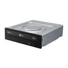 LG GH24NSB0 Interno DVD Super Multi DL Negro, Plata unidad de disco óptico