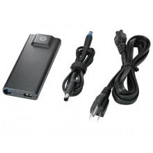HP 90W Slim Adapter Interior 90W Negro adaptador e inversor de corriente