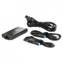HP 65W Slim Adapter Interior 65W Negro adaptador e inversor de corriente