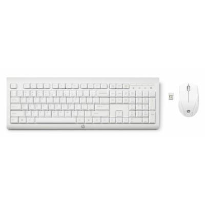 HP Teclado + Ratón inalámbrico C2710 Blanco