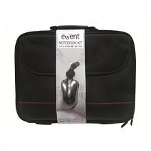 "Ewent EW2505 15.6"" Maletín Negro + Ratón USB"