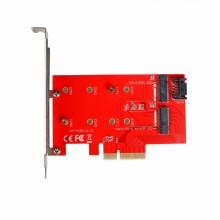 i-tec PCI-E 2x M.2 Card