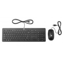 Teclado + Ratón HP USB