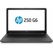 """HP 250 G6 Negro Portátil 39,6 cm (15.6"""") 1366 x 768 Pixeles 2,00 GHz 6a generación de procesadores Intel Core i3 i3-6006U"""