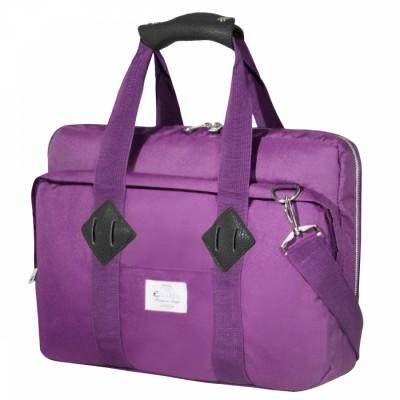 "e-Vitta EVLB000462 16"" Bandolera Púrpura maletines para portátil"