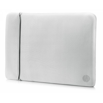 "HP 14"" Neoprene Reversible Sleeve 14"" Funda Negro, Plata"