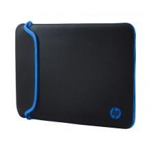 HP Funda de neopreno negra/azul 14