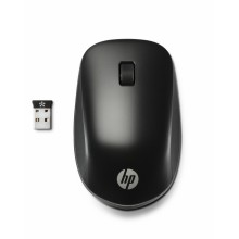 HP Ultra Mobile Wireless Mouse ratón RF inalámbrico 1200 DPI Ambidextro Negro