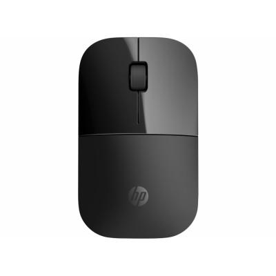HP Z3700 ratón RF inalámbrico Óptico 1200 DPI Ambidextro Negro