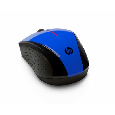 HP inalámbrico azul cobalto X3000 ratón