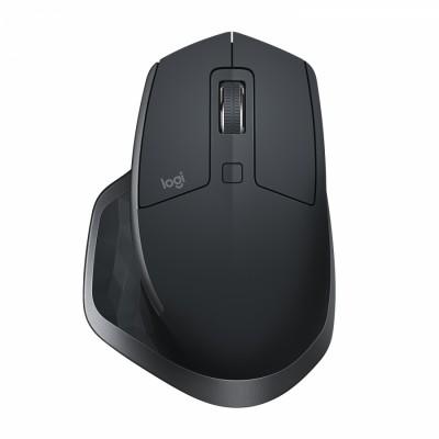 Logitech MX Master 2S ratón RF inalámbrico Laser 1000 DPI mano derecha Grafito