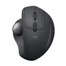 Logitech MX Ergo ratón RF inalámbrica + Bluetooth Trackball 440 DPI mano derecha Negro