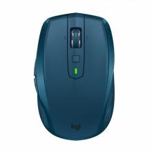 Logitech MX Anywhere 2S ratón RF inalámbrica + Bluetooth 4000 DPI mano derecha Azul
