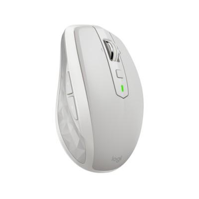 Logitech MX Anywhere 2S ratón RF inalámbrica + Bluetooth 4000 DPI mano derecha Gris, Blanco