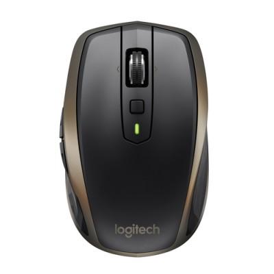 Logitech MX Anywhere 2 ratón RF inalámbrica + Bluetooth Laser 1000 DPI mano derecha Grafito