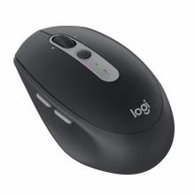 Logitech M590 ratón RF inalámbrica + Bluetooth Óptico 1000 DPI mano derecha Grafito