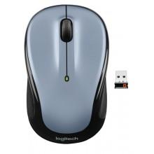 Logitech M325 RF inalámbrico Óptico 1000DPI Ambidextro Negro, Plata ratón