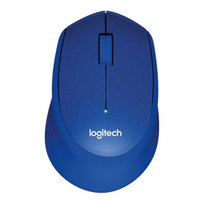 Logitech M330 ratón RF inalámbrico Óptico 1000 DPI mano derecha Azul