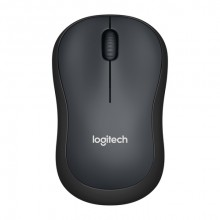 Logitech M220 RF inalámbrico Óptico 1000DPI Ambidextro Carbón vegetal ratón