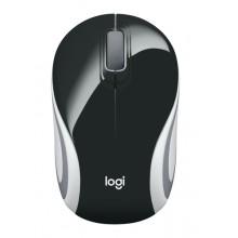 Logitech M187 ratón RF inalámbrico Óptico 1000 DPI Ambidextro Negro