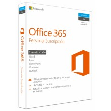 Office 365 Personal 1usuario(s) 1año(s)